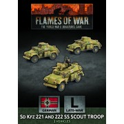 Flames of War - SdKfz 221 and 222 SS Scout Troop