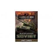 Flames of War - Bagration: Soviet Unit Cards