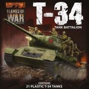 Flames of War - T-34 Tank Battalion
