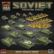 Flames of War - Soviet Starter Force - Heavy Assault Group