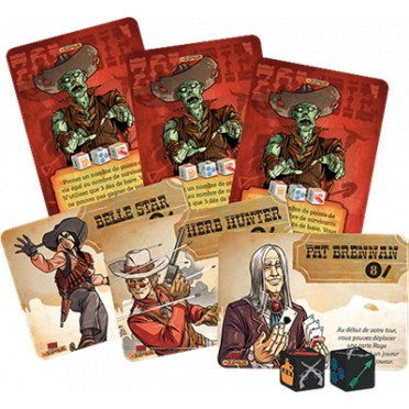 Bang! - Le jeu de dés : Undead or Alive Extension