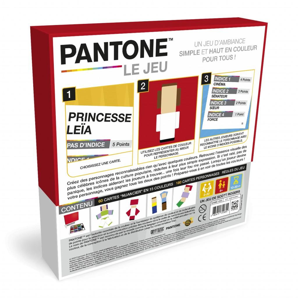 Acheter Pantone Le Jeu Jeux De Societe Don T Panic Games