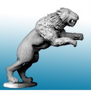 Sabre Tooth Tiger Leaping