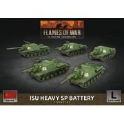 Flames of War - ISU Heavy SP Battery