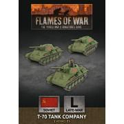 Flames of War - T-70 Tank Company