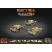 Flames of War - Valentine Tank Company