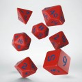 Classic Runic Red & blue Dice Set (7) 0