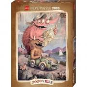 Puzzle - 2000 Pièces - Zozoville Road Trippin