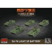 Flames of War - SU-76 Light SP Battery