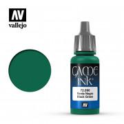 Ink : Black Green