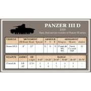 Battlegroup Early German Data Cards