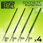 Green Séries : Set de Pinceaux Synthétiques