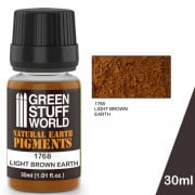 Pigments Light Brown Earth