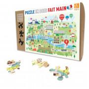 Puzzle - Paris Illustre - 24 Pièces