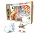Puzzle - Animaux Familiers en Folie - 12 Pièces 0