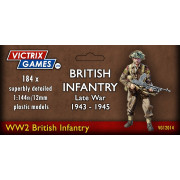 British Infantry and Heavy Weapons (12mm)