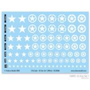 US Star Set 1 (White US Star)