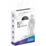 Ultimate Guard 60 pochettes Katana Sleeves format japonais Noir