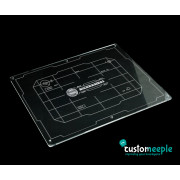 Xwing compatible template tray Lid