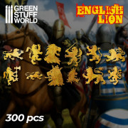 English Lion Symbols