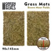 Grass Mat Cutouts - Brown Moor Fields
