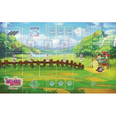 Tiny Epic Dinosaurs Premium Game Mat