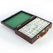 Petit Mahjong - Boite Bois
