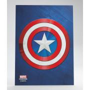 Marvel Champions Art Sleeves - Captain America