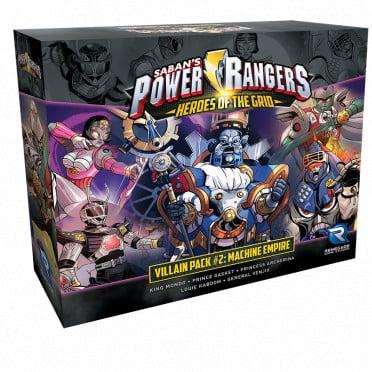 Power Rangers: Heroes of the Grid - Villain Pack 2: Machine Empire
