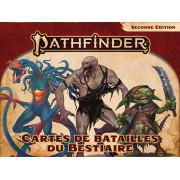 Pathfinder 2 - Cartes de Batailles du Bestiaire