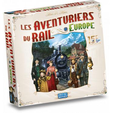 Les Aventuriers du Rail - Europe 15e Anniversaire
