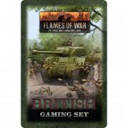 British Tin Gaming Set