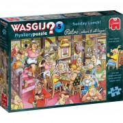 Puzzle - Wasgij Retro - Mystery 5 - Déjeuner du Dimanche! - 1000 Pièces