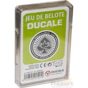 Jeu de Belote - 32 Cartes - Boîte Plastique