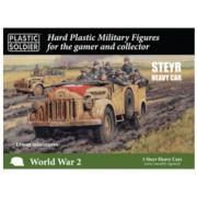 15mm WW2 German Steyr Heavy Car