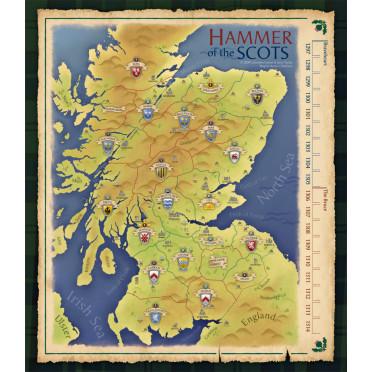 Hammer of the Scots - Deluxe Neoprene Map