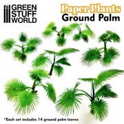 Plantes en Papier - Petits Palmiers