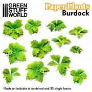 Plantes en Papier - Bardanes