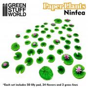 Plantes en Papier - Nénuphars