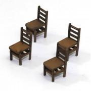 Ladder Back (B) Chair (x4)