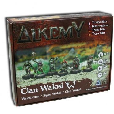 Alkemy - Aurlok - Walosi Clan Blitz Box Warband