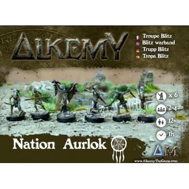 Alkemy - Aurlok - Crow Blitz Warband