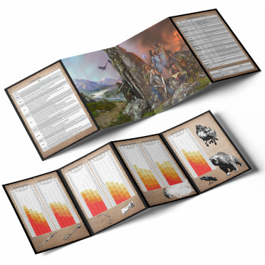 Against the Darkmaster - GM Screen and Booklet