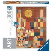 Puzzle Art Collection - Paul Klee - Château et soleil - 300 Pièces