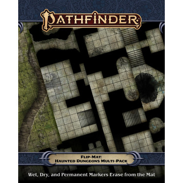Pathfinder Flip-Mat: Haunted Dungeons Multi-Pack