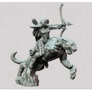 3D Printed Miniatures: Panther & Scout