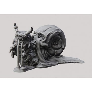 3D Printed Miniatures: Poision Snail - Dripping