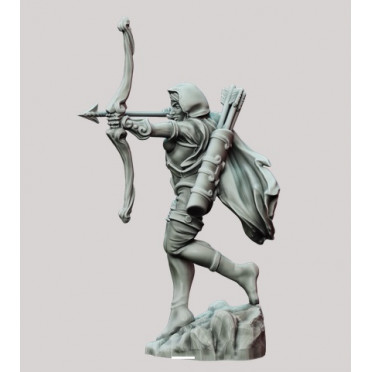 3D Printed Miniatures: Scout - Standing Solo