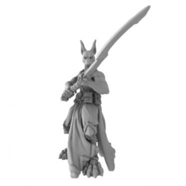 3D Printed Miniatures: Sword Archon - Kopesh