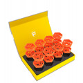 Feldherr Magnetic Box Yellow for Tokens and Small Game Material 0